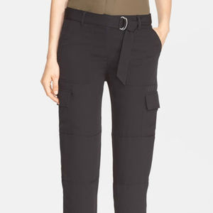 Theory Hannon Silk Cargo Pants